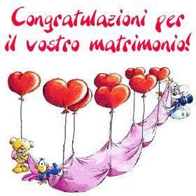 Auguri matrimonio cartoline auguri for Immagini di auguri agli sposi